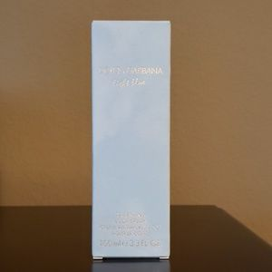 Dolce and Gabbana light blue lotion